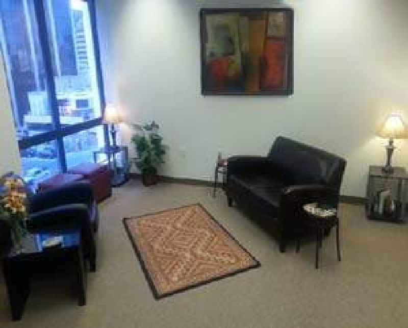 Dr. Kyle Good's Therapy Office in the Central Pacific Plaza building Honolulu HI 96813